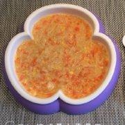 西红柿胡萝卜蛋黄面的做法