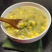 高粱豌豆玉米粥的做法