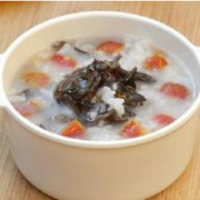木耳菜山楂粥的做法