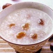 百合板栗糯米粥的做法