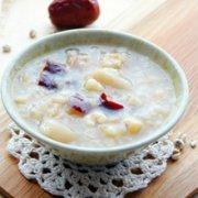 薏米莲子红枣粥的做法