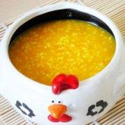 小米黄豆粥的做法