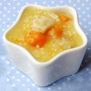 猪肝南瓜粳米粥的做法