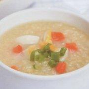 鸡蛋小米萝卜粥的做法