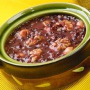 紫米杂粮粥的做法
