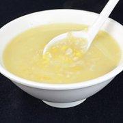 玉米片黄豆粥的做法
