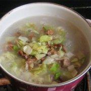带鱼萝卜包菜粥的做法