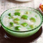 丝瓜粥的做法