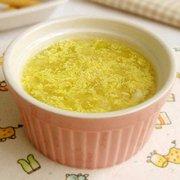 牛奶鸡蛋小米粥的做法