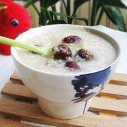 牛奶红枣粳米粥的做法