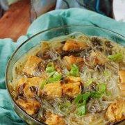 微波油豆腐粉丝汤的做法