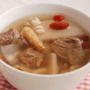 淮杞牛肉汤的做法