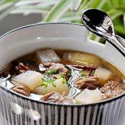 山药牛腩汤的做法