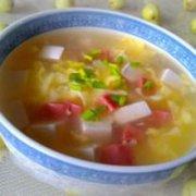 鸡蛋豆腐汤的做法