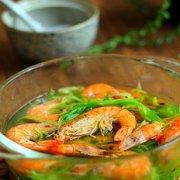 萝卜丝大虾汤的做法