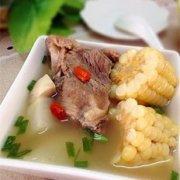 萝卜口蘑骨头汤的做法