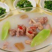 青萝卜陈皮鸭汤的做法