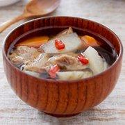 山药枸杞牛肉汤的做法