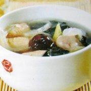 马齿苋木耳猪肠汤的做法