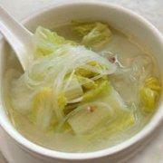 大白菜粉丝汤的做法