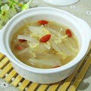 萝卜虾皮汤的做法