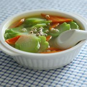 佛手胡萝卜马蹄汤的做法