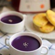 紫薯米糊的做法