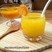 金桔蜂蜜茶的做法