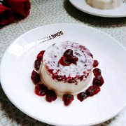 牛奶蔓越莓布丁的做法