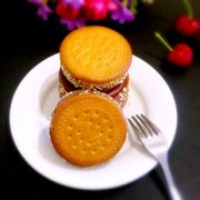紫薯夹心饼的做法