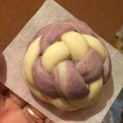 紫薯绣球馒头的做法