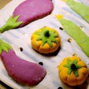 紫薯南瓜菠菜馒头的做法