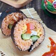 甜辣寿司卷的做法