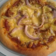 香肠香干披萨的做法