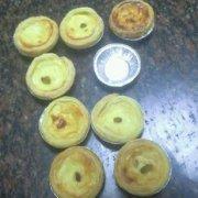 葡萄蛋挞的做法