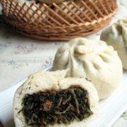 马齿苋野菜蒸包的做法