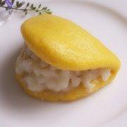南瓜花生蒸饼的做法
