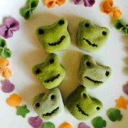 苏米 青蛙豆沙小馒头的做法