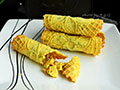 香酥葱油蛋卷的做法