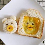 萌萌哒小熊吐司的做法