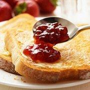草莓吐司的做法