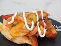 茄汁烤薯角的做法