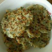 槐花饼的做法