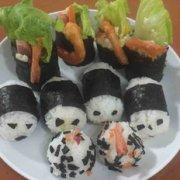 虾尾寿司的做法