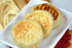 圆白菜肉沫烫面馅饼的家常做法