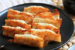 鲜肉香菜锅贴的家常做法