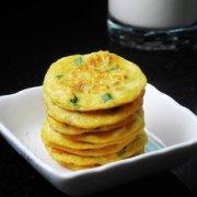 葱香鲜玉米煎饼的做法