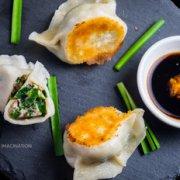 煎/煮韭菜鲜肉手工饺的做法