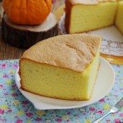 橘汁戚风蛋糕的做法