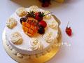 奶油水果蛋糕的做法